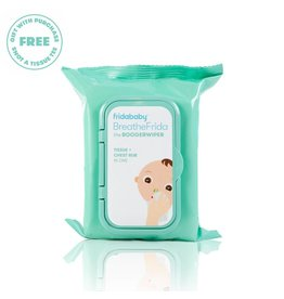 Fridababy BreatheFrida Nose and Chest Wipes