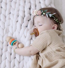 Color Block Classic Baby Rattle