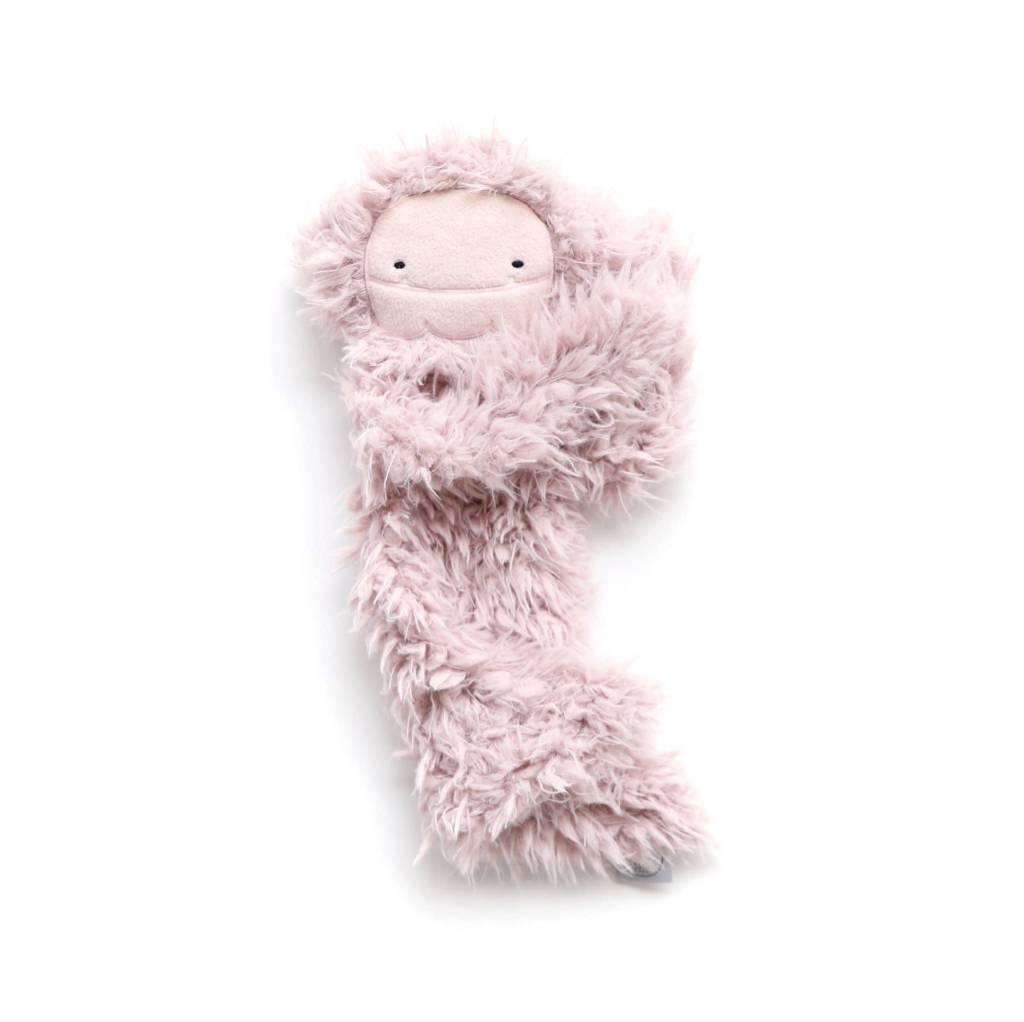 Slumberkins Bigfoot Ultra Plush-Blushing Pink