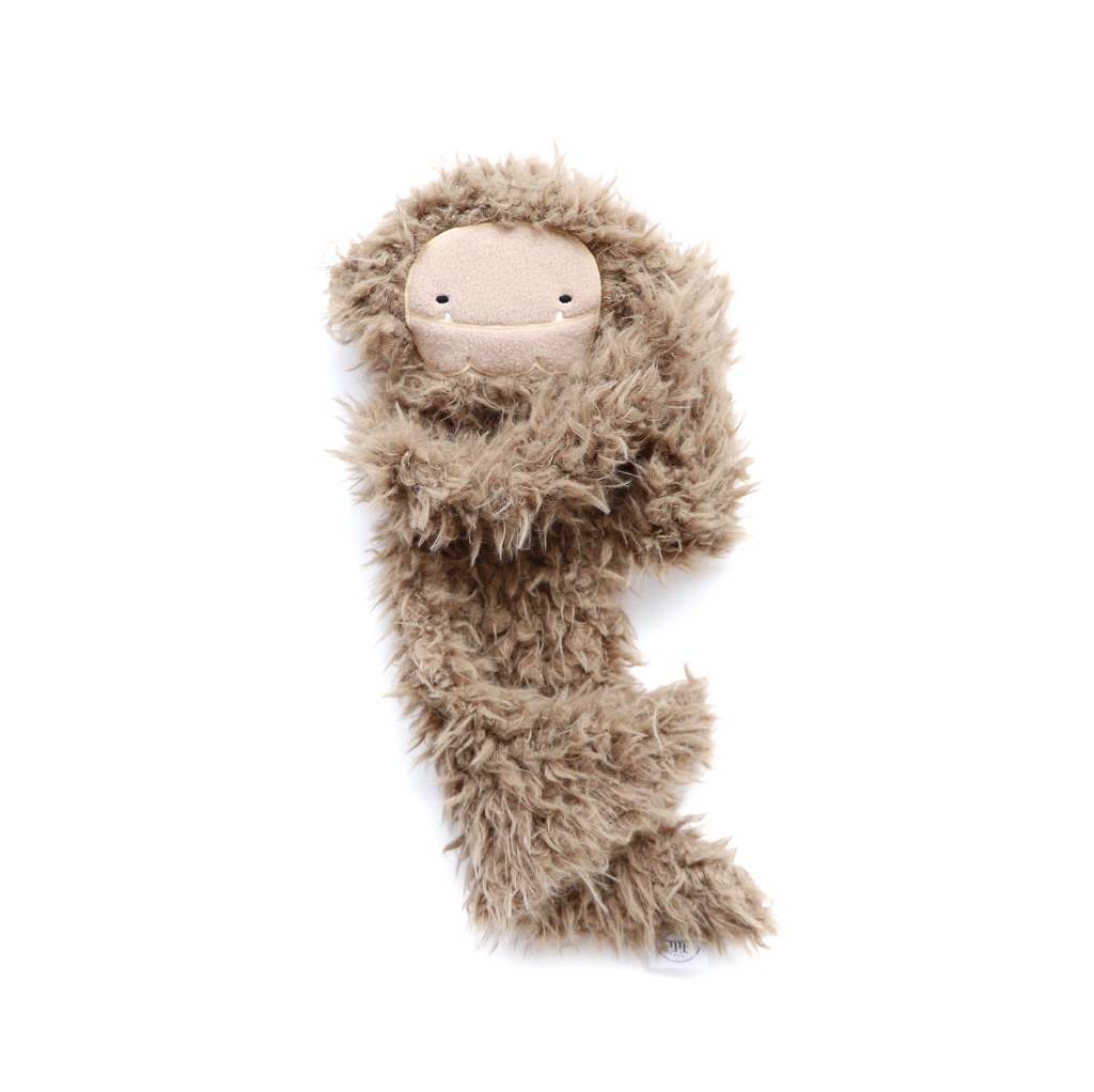 Slumberkins Bigfoot Ultra Plush-Brown