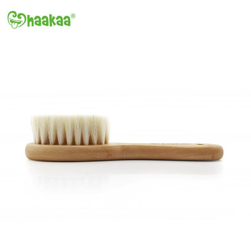 Haakaa Goat Wool Baby Hair Brush