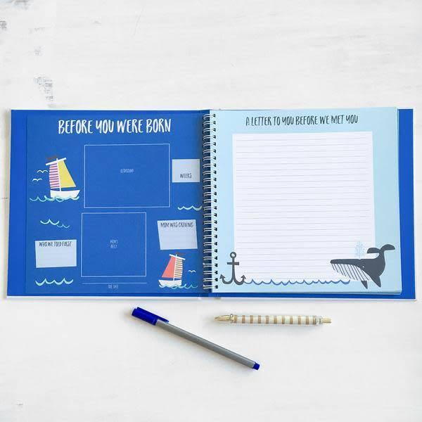 Little Captain Memory Book