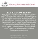 Earth Mama Organics Morning Wellness Body Wash