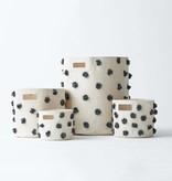 Pehr Designs Pom Pom Hamper- Charcoal