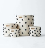 Pehr Designs Pom Pom Bin- Charcoal