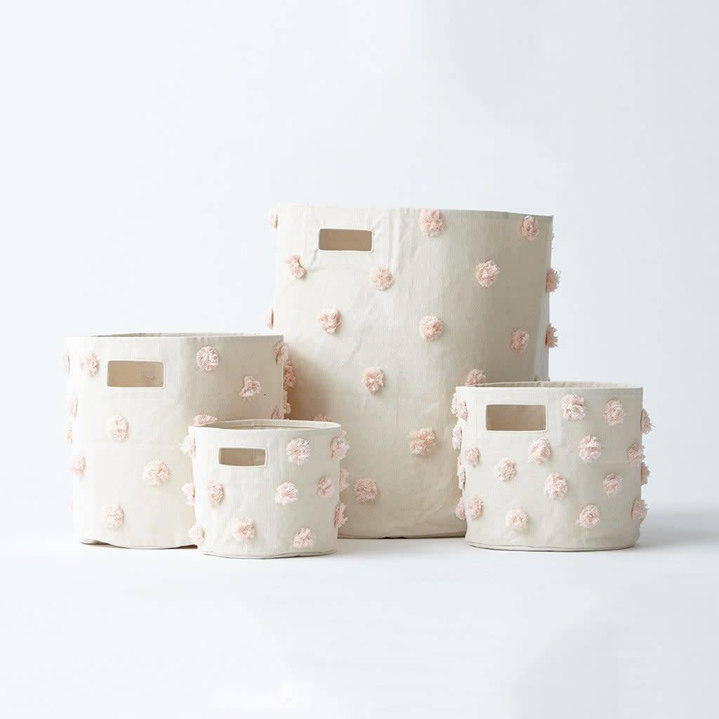 Pehr Designs Pom Pom Bin- Blush