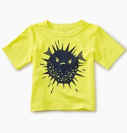 Tea Collection Puffer Fish Graphic Baby Tee