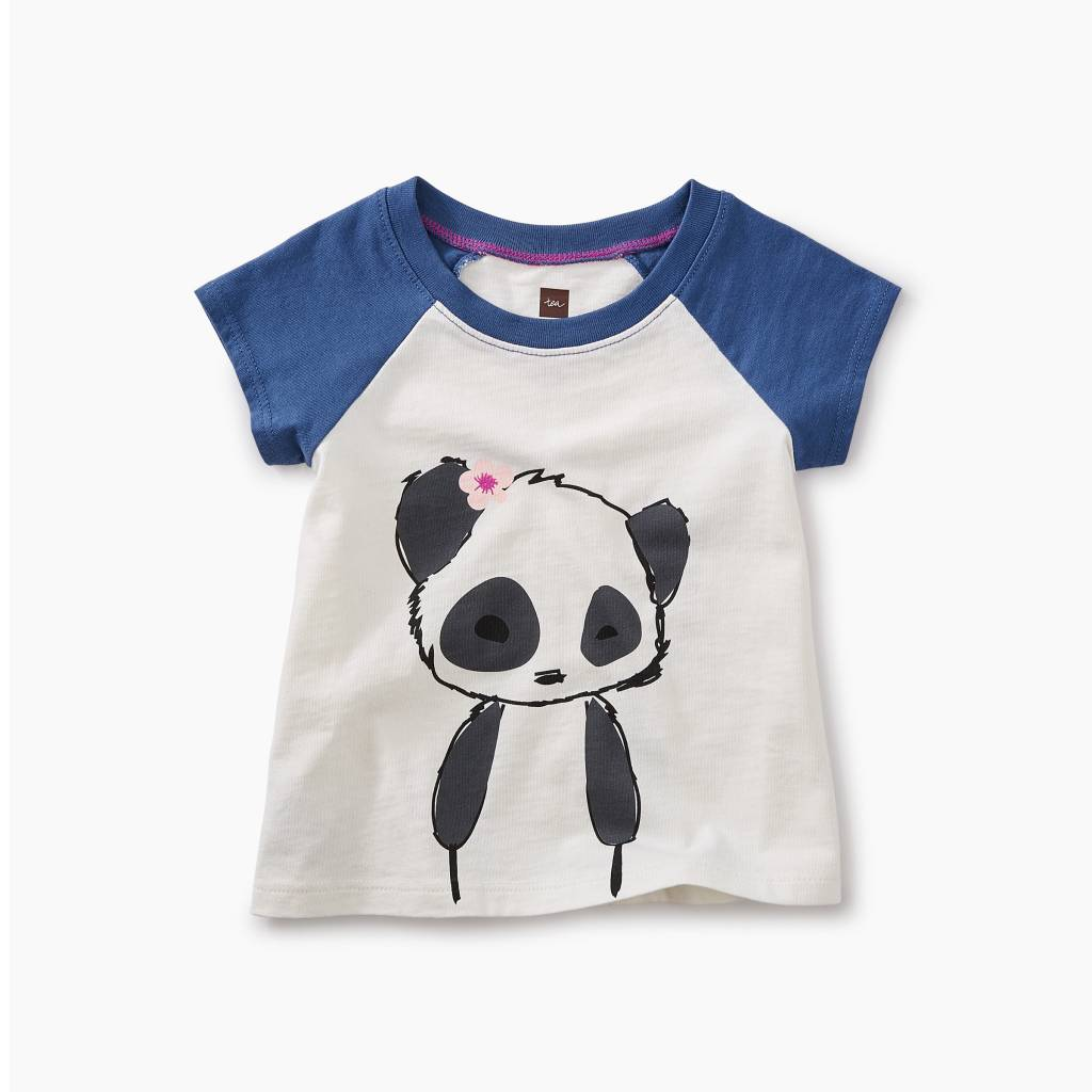 Tea Collection Little Panda Graphic Baby Tee