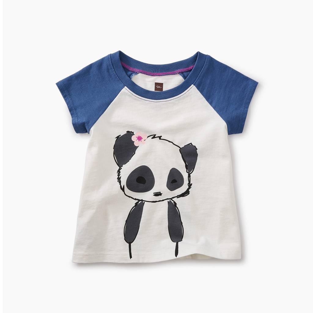 Tea Collection Little Panda Graphic Baby Tee