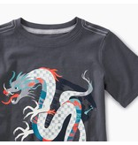 Tea Collection Chinese Dragon Graphic Tee