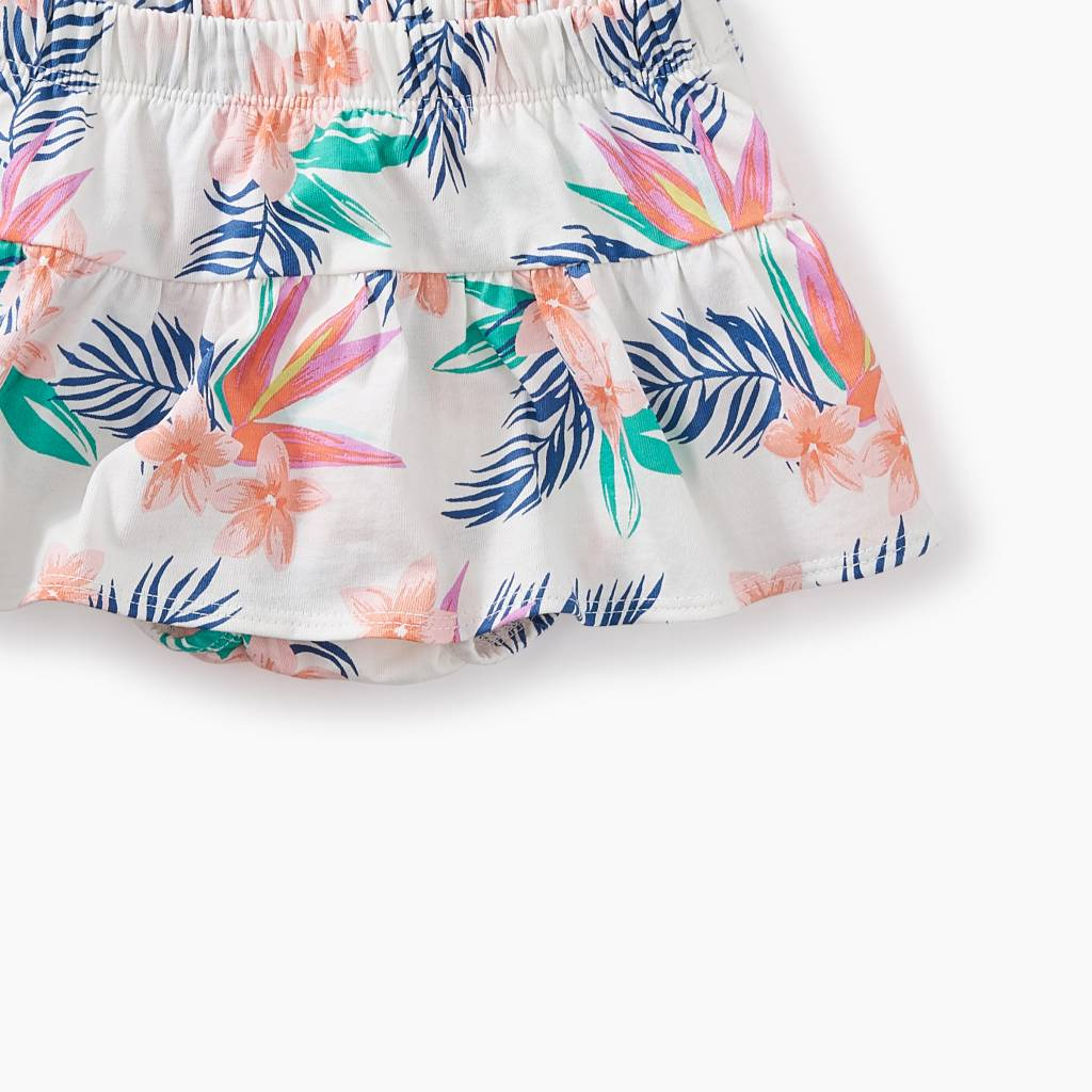 Tea Collection Ruffled Bloomers- Hawaiian Florals