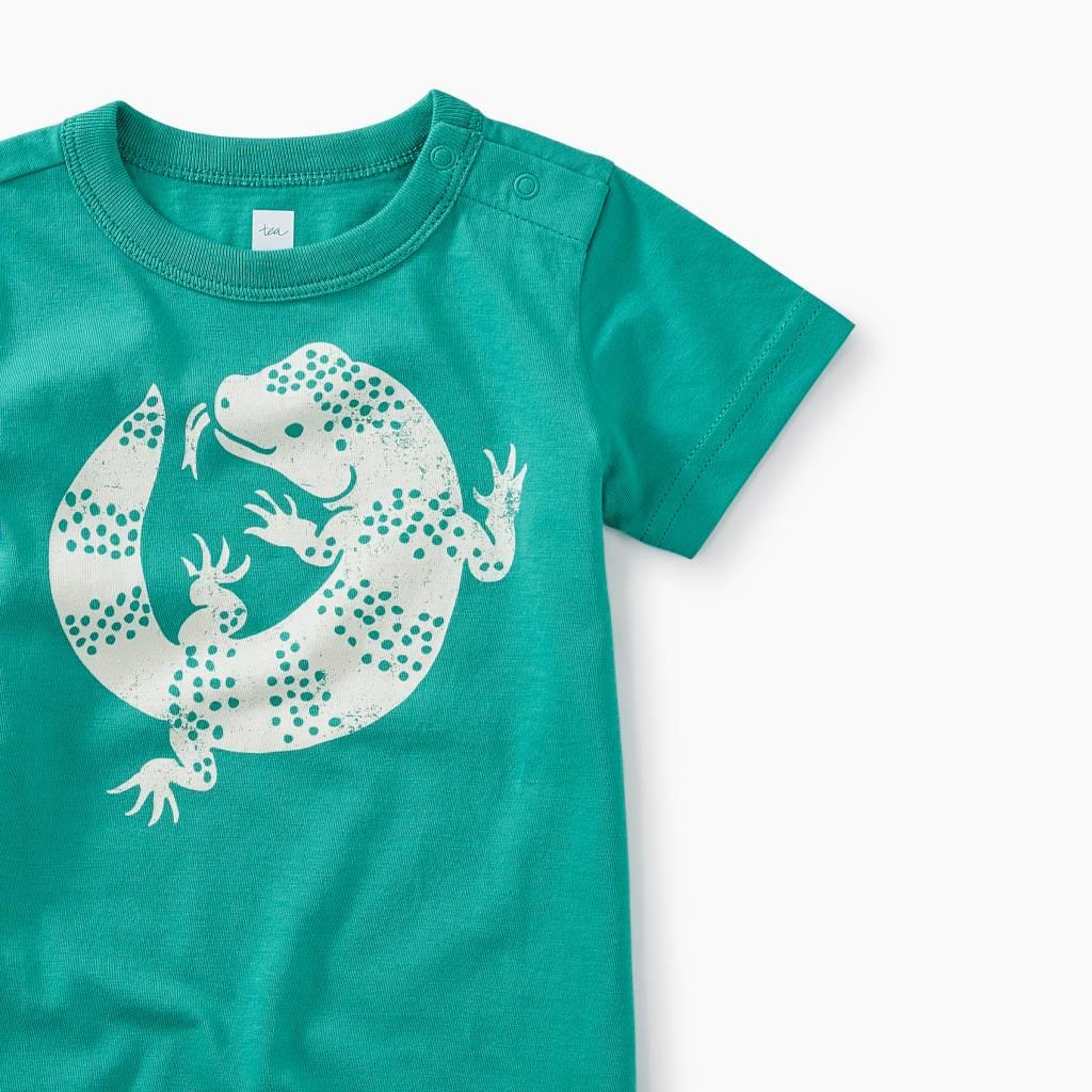 Tea Collection Lizard Graphic Romper