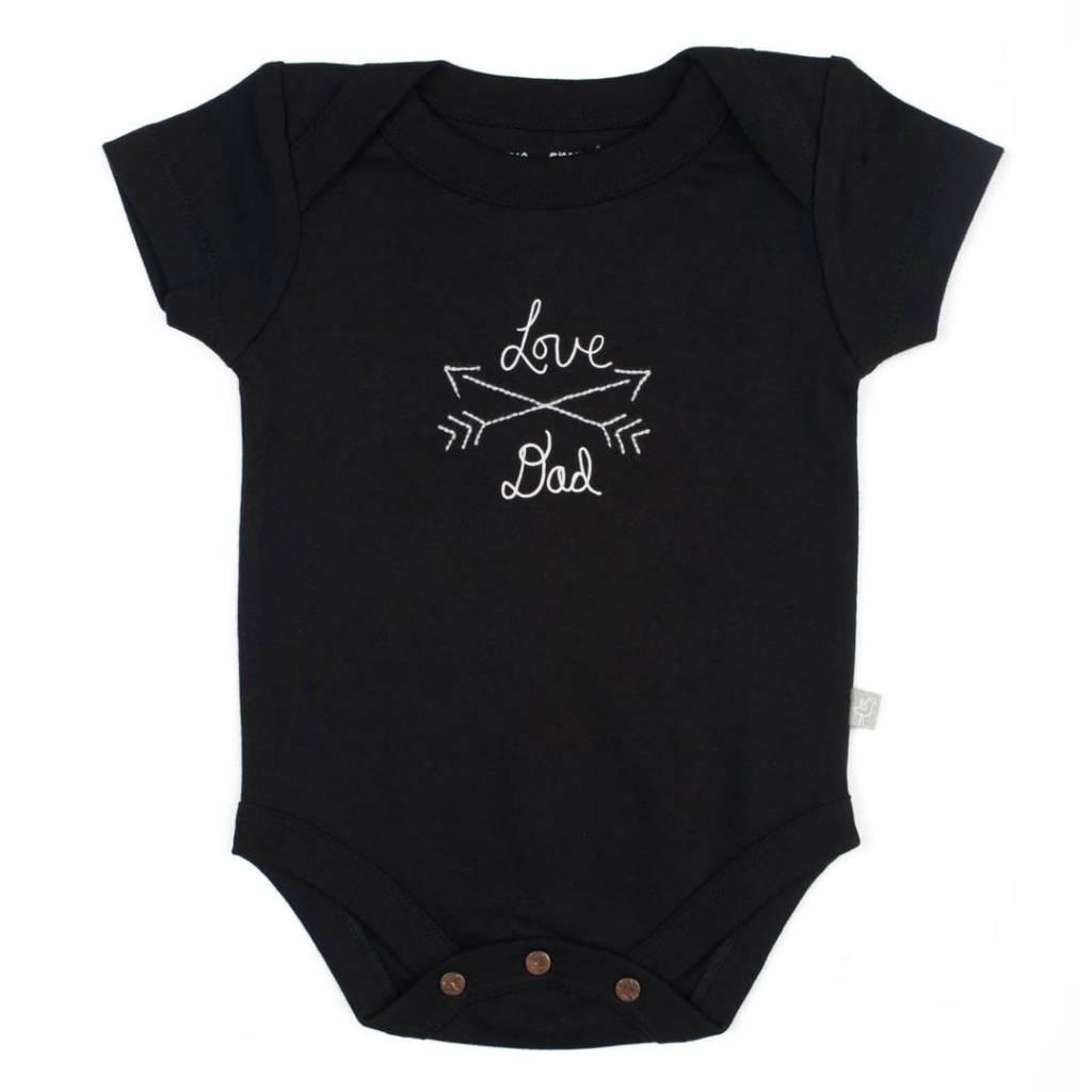 Finn + Emma Love Dad Bodysuit