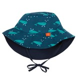 Sun Protection Bucket Hat- Blue Whale