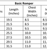 Little Bipsy LB Basic Button Romper- Tan