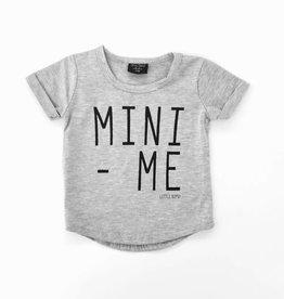 Little Bipsy Mini Me Swoop Tee- Grey