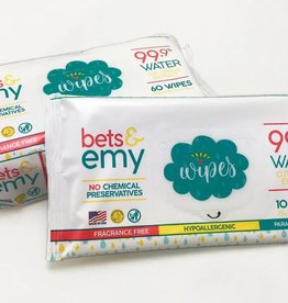Bets & Emy Baby Wipes- 10 count