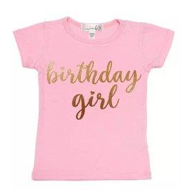 Sweet Wink Birthday Girl Tee Shirt