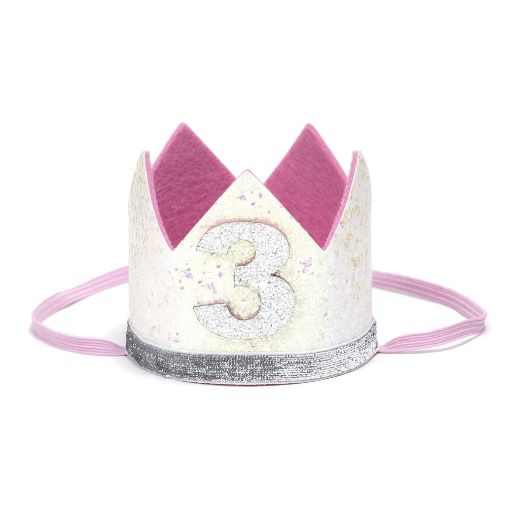 Sweet Wink White #3 Crown