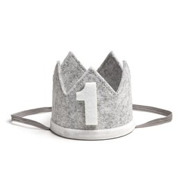 Sweet Wink Gray/White #1 Crown