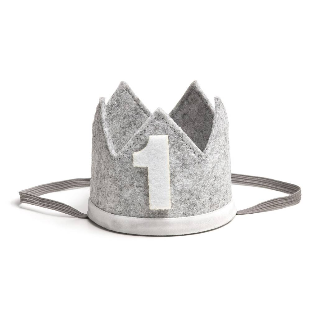 Sweet Wink Gray/White #1 Crown