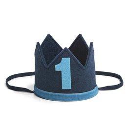 Sweet Wink Navy/Blue #1 Crown