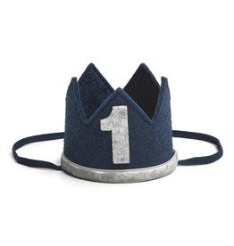 Sweet Wink Navy/Gray #1 Crown