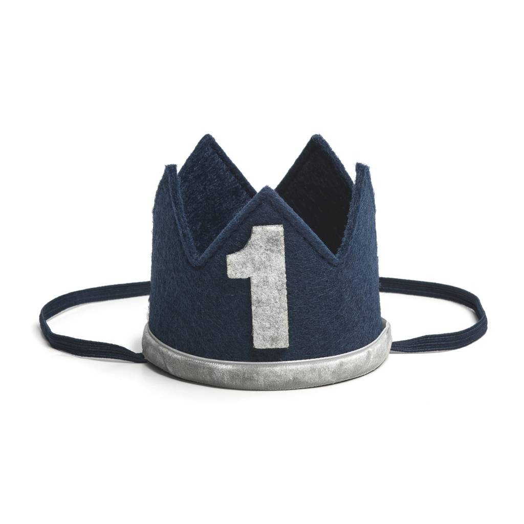 Sweet Wink Navy/Gray #1 Crown
