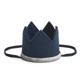 Sweet Wink Navy/Gray Crown