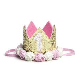 Sweet Wink Gold Blush #1 Flower Crown