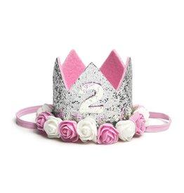 Sweet Wink Silver #2 Flower Crown