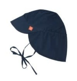 Sun Protection Flap Hat- Navy