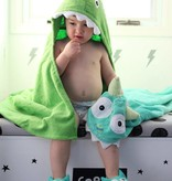 Yikes Twins Childrens Hooded Towel