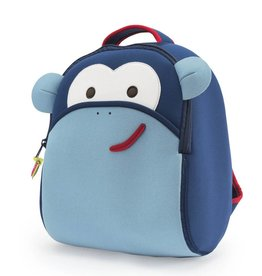 Dabbawalla Backpack- Blue Monkey