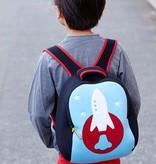Dabbawalla Backpack- Space Rocket