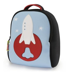 Dabbawalla Backpack- Space Rocket