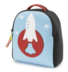 Dabbawalla Harness Backpack- Space Rocket