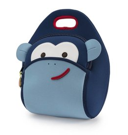 Dabbawalla Lunch Bag- Blue Monkey