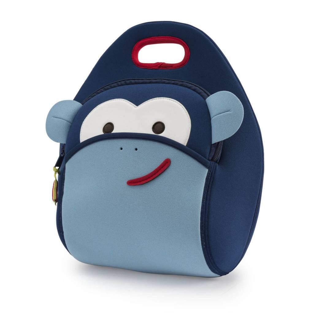 Dabbawalla Lunch Bag- Blue Monkey