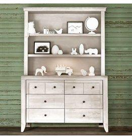 Milk Street Baby Cameo Hutch/Bookcase