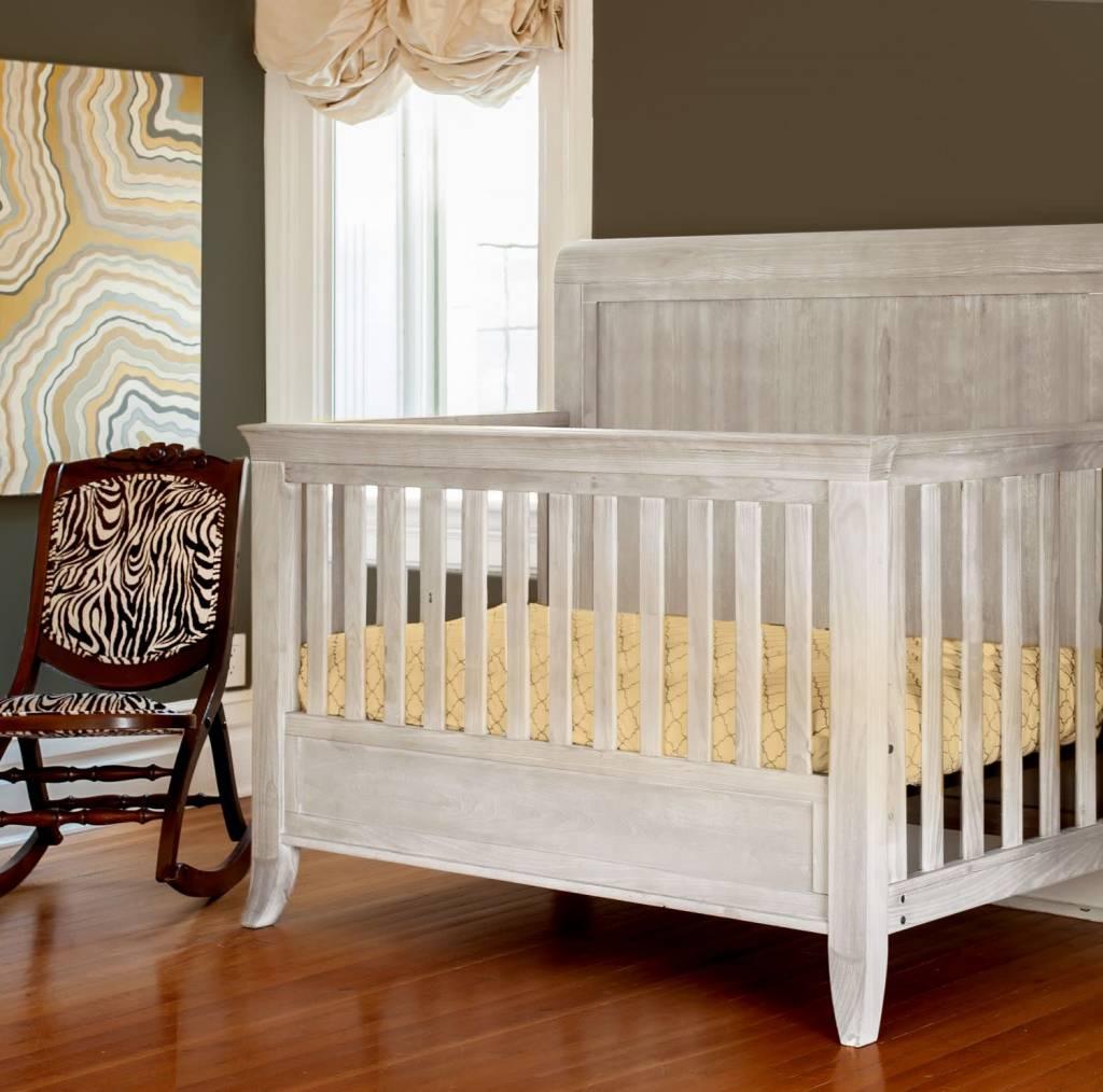 Milk Street Baby Cameo Sleigh Convertible Crib
