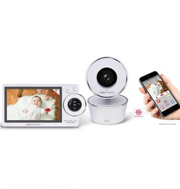"Project Nursery 5"" HD Dual-Mode WiFi Baby Monitor"