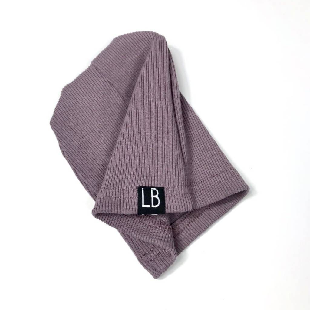 Little Bipsy LB Ribbed Beanie