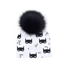 TIny Trendsetter Mini Super Hero Pom Pom Beanie Hat