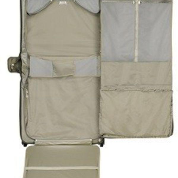 BRIGGS & RILEY BASELINE DELUXE WHEELED GARMENT BAG, OLIVE (U176)