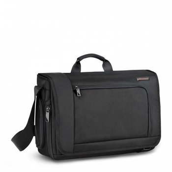 BRIGGS & RILEY DISPATCH MESSENGER, BLACK (VB204)