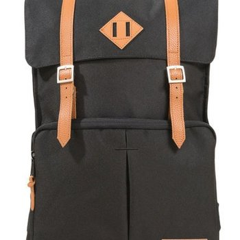 WILLLAND OUTDOORS FORTUNA SQUARE BACKPACK, DARK NIGHT