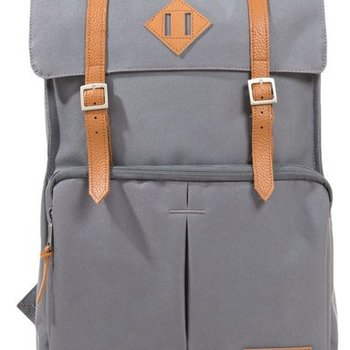 WILLLAND OUTDOORS FORTUNA SQUARE BACKPACK, DARK GREY