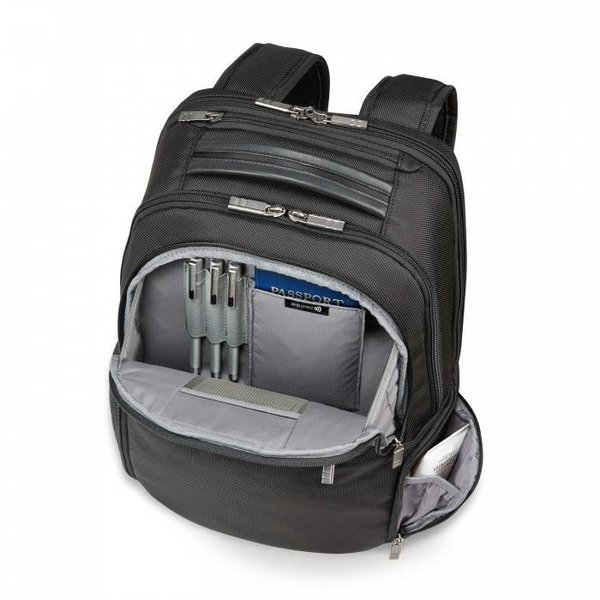 BRIGGS & RILEY @WORK MEDIUM MULTI-POCKET BACKPACK (KP280-4)