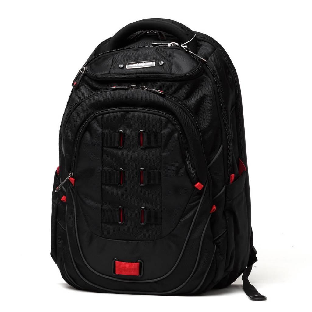 Samsonite Tectonic Laptop Backpack Black Red Urban